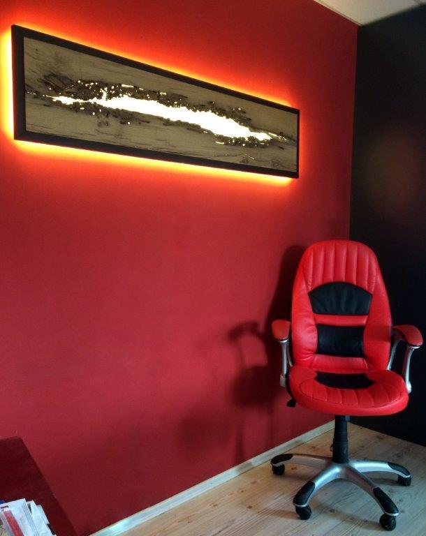 Designerwandlampe