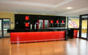 Dynamostadion Businessclub Etage 2
